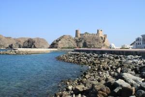 Stara portugalska utrdba v starem Muškatu
