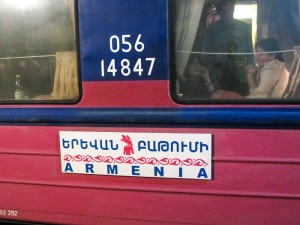 Armenija - vlak