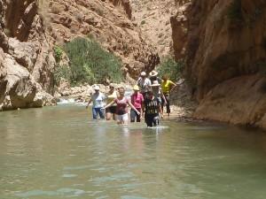 Po kanjoni reke Dades