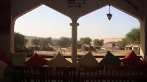 Oman - beduinski kamp