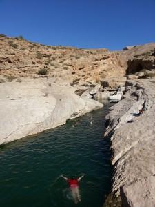 Čudovita dolina Bani Khaled