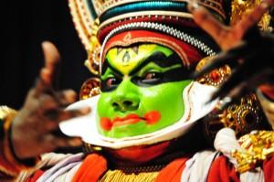 Kathakali ples