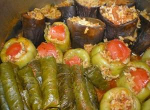 Turške polnjene paprike