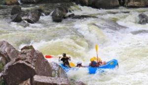 Raftanje na reki Kelani