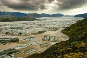 Islandija-ledenik Vatnajokul