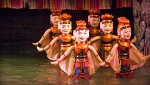 Vietnam, vodne lutke
