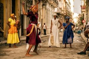 Kuba-Havana-ulica