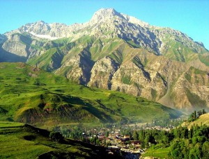 Tadjikistan gorovje Fan