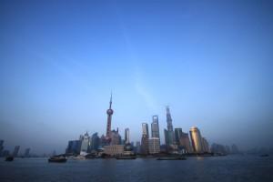Kitajska - nebotičniki Šanghaja