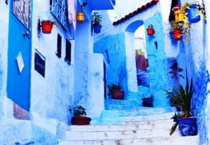 Maroko-barve v Chefchaouenu_234242197