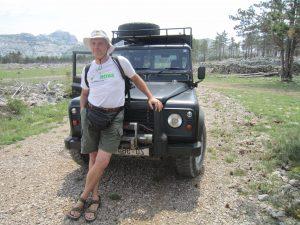 Oskar na safariju