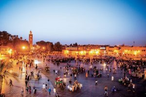 Maroko-trg Jemma el Fnaa
