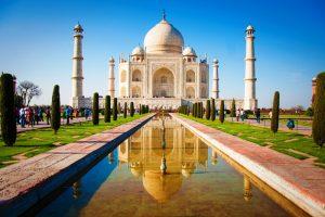 Indija-Taj Mahal