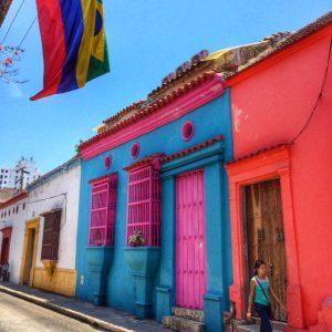 Kolumbija-Cartagena-ulica