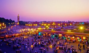 Maroko-Marrakech