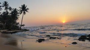 Šrilanka - sončni zahod