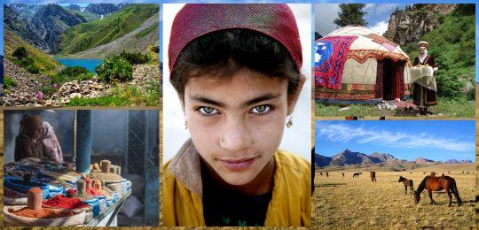 Kolaz1 1 - Osrednja Azija - Po lepotah starodavnih trgovskih poti