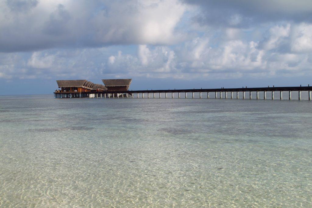 Maldivi - hiške na vodi