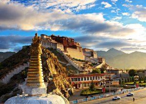 Tibet-palača Potala-Od Katmanduja do Lhase