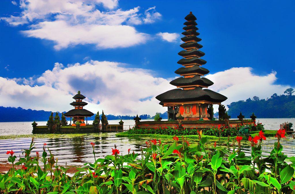 Indonezija - Bali tempelj