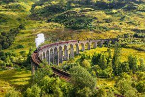 Škotska- železnica iz Harry Potter-ja, Glenfinnan