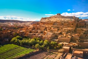 Maroko-ksar Ait Ben Haddou