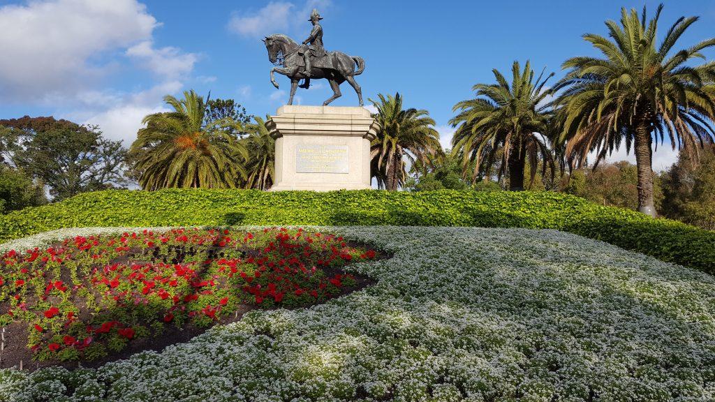 5. Melbourne je mesto parkov in številnih spomenikov.