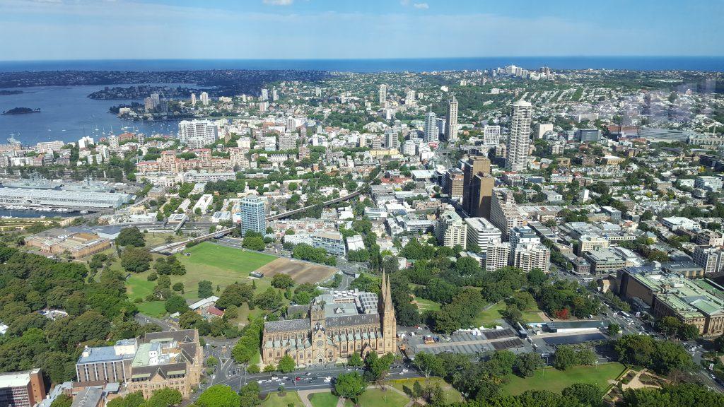 Lep pogled na mesto se ponuja iz razglednega stolpa.