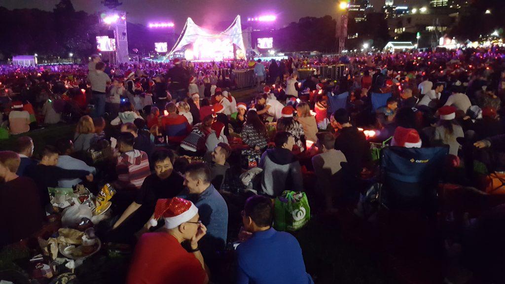 6. V Hyde parku med vsakoletnim božičnim koncertom