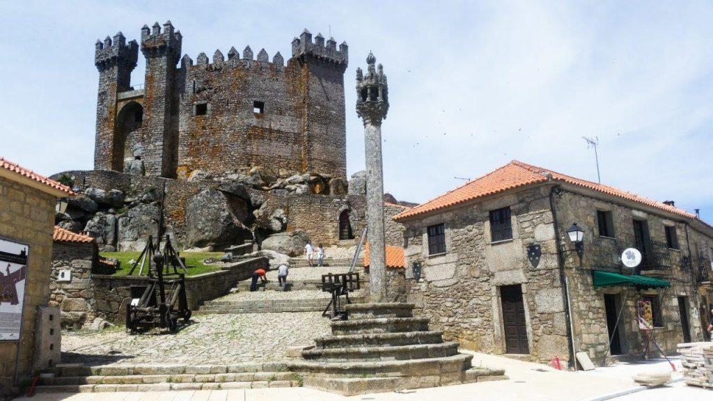 Portugalska-gradič v Penedono