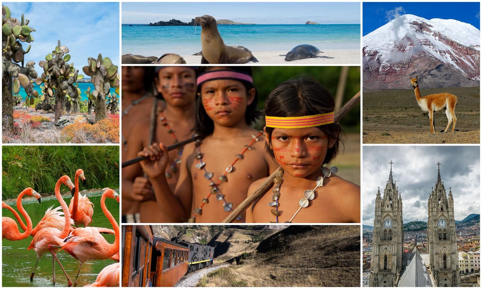Ekvador kolaz - PATAGONIJA in EKVADOR,  izjemni deželi za potovalne sladokusce!