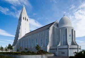 Islandija-cerkev v Reykjeviku