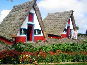 Madeira-hiške