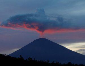 Bali, vulkan Agung