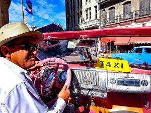Kuba-voznik taxija