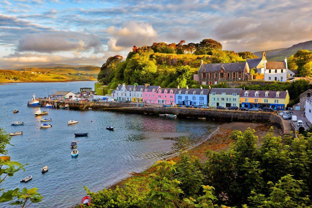 Škotska-Isle of Skye